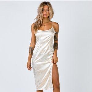 Ziva white midi dress Princess Polly
